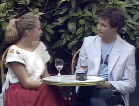 Mireille et Robert à la Closerie des Lilas